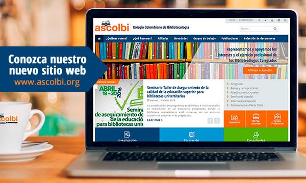 Lanzamiento nuevo sitio web Ascolbi
