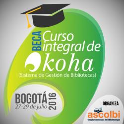 Beca Curso integral de Koha (Bogotá 2016-I)