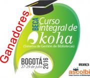 Ganadoras beca Curso integral de Koha 2016