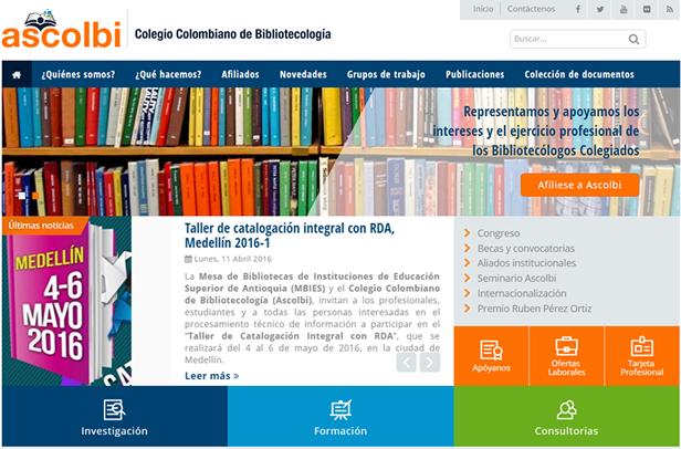 Ascolbi lanzamiento nuevo sitio web del colegio for Sitio web ministerio del interior